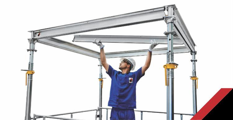 caracteristicas e vantagens escoramento lajes montagem